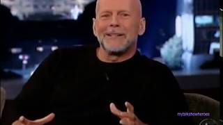 BRUCE WILLIS - HILARIOUS INTERVIEW