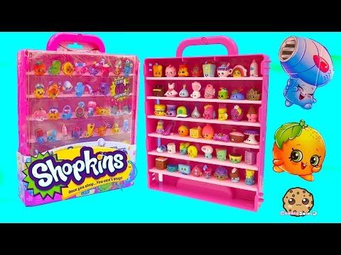SEASON 4 Shopkins 12 Pack Unboxing &  Collector's Case With 2 Exclusives Cookieswirlc Video