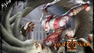 GOD OF WAR II PS3 PS2 Ω 🔴 [[ LIVE ]] 🔴 - ATÉ ZERAR - HARD - AO VIVO - LIVE DE 12 HORAS