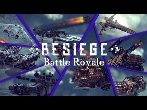 Best Besiege Creation Battle Royale | BESIEGE v 0.27 | 1.000 Subscribers Special