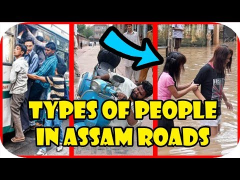 Types of People in Assam Roads | The Veg Chicken