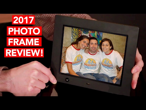 Best Digital Picture Frames of 2017 Review - w/ Motion Sensor!