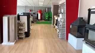 Entrate nella showroom di Clemente Impianti partner Sos Energy