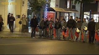 Митинг протеста ПАМЕ против визита Обамы в Грецию на прощади Омониа