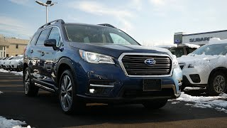 2020 Subaru Ascent Limited Review - Start Up, Revs, and Walk Around