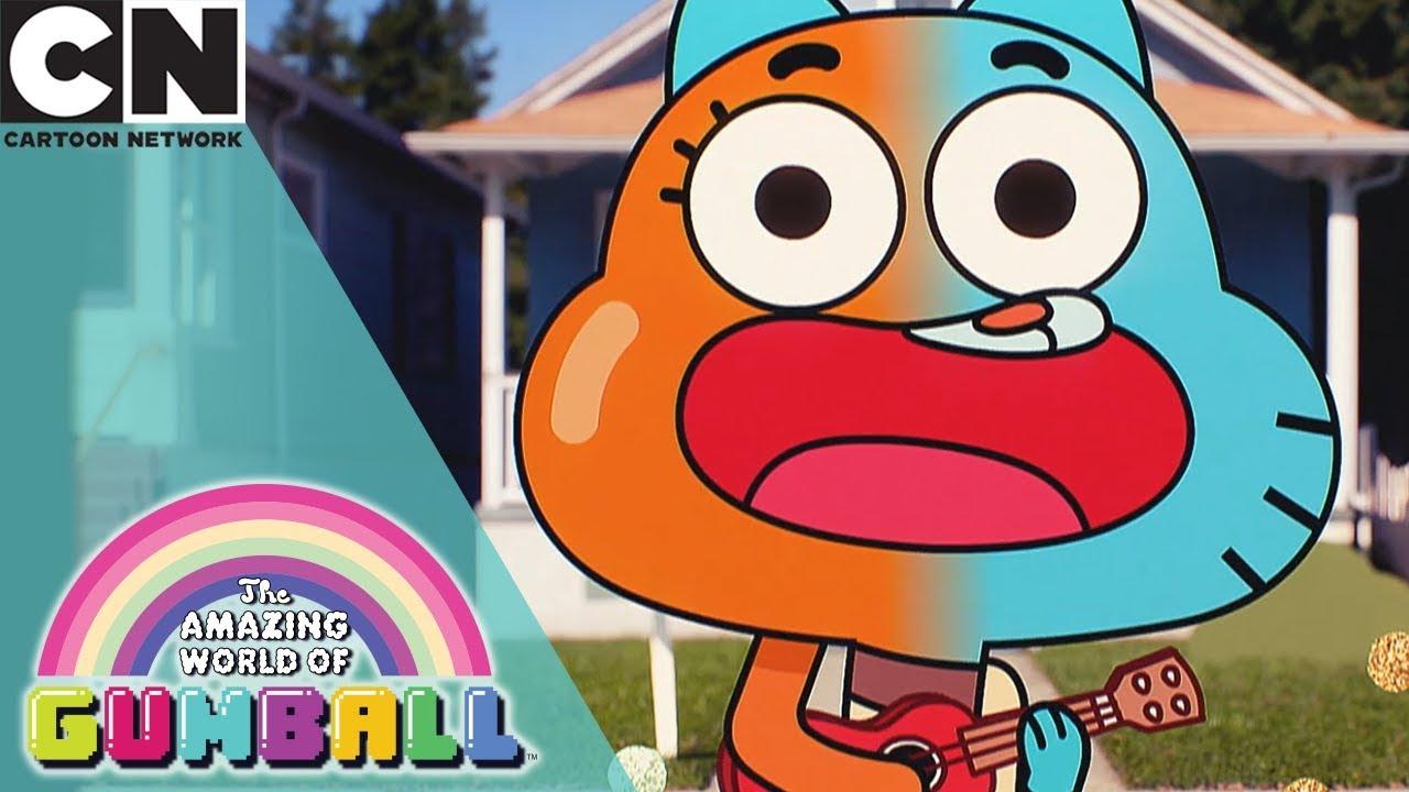 The Amazing World Of Gumball Character Mash Up Cartoon Network Youtube
