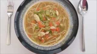 My Yummy Syn Free Slimming World Chicken Noodle Soup Maker Recipe
