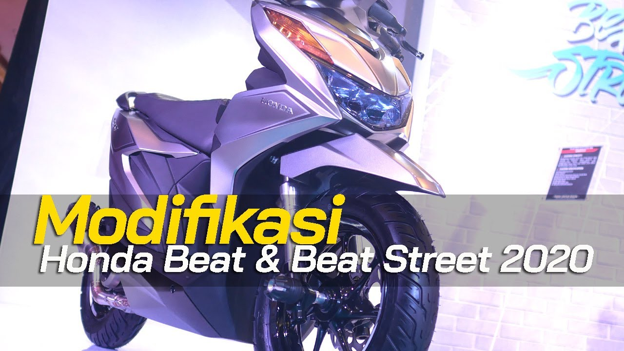Modif New Honda Beat Dan Beat Street 2020 Tmcblog 1216 Youtube