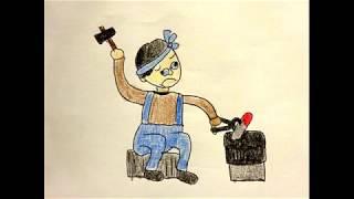 村の鍛冶屋 文部省唱歌 Blacksmith in a village