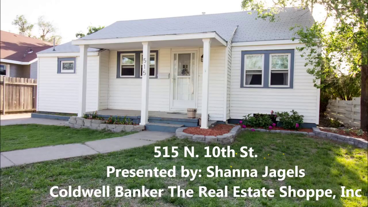515 N 10th St Garden City Ks Shanna Jagels Coldwell Banker The Real Estate Shoppe Inc Youtube