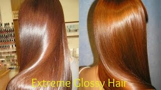 Extreme Glossy Hair || Super Shiny Hair like Mirror