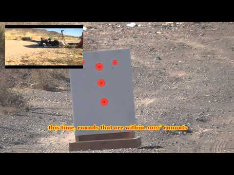 Savage 110BA Accuracy at 100 yards