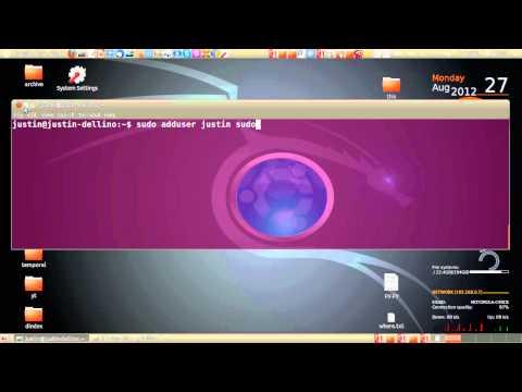 Add User To Sudoers File In Ubuntu 12.04