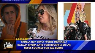 Natalia Rivera Reacciona A Tiraera De Bad Bunny