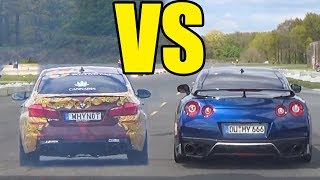 BMW M5 F10 vs NISSAN GTR R35 - 🚀ACCELERATION SOUND🔥