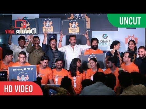 UNCUT - Sai International Marathon Shirdi | Ajay Devgn | Press Conference