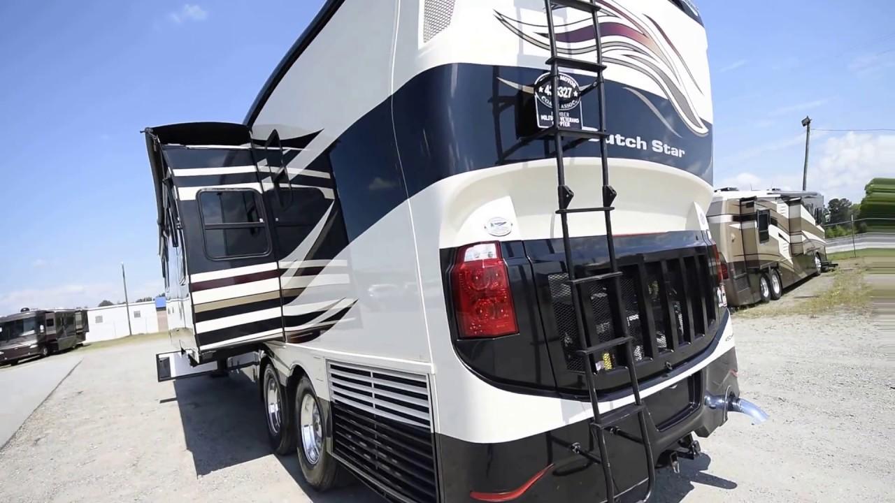 Newmar Dutch Star >> 2013 Newmar Dutch Star A Class Tag-Axle Diesel Pusher Motorhome from Porter's RV Sales - YouTube