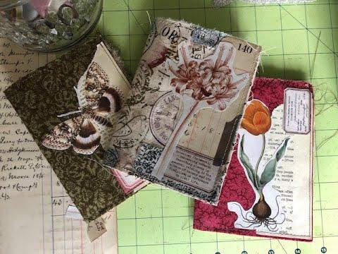 Fast Fabric Journal - Paper Bag Journal Variation