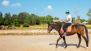 Rwandan music star Bruce Melodie discovers horse riding on Mt Kigali