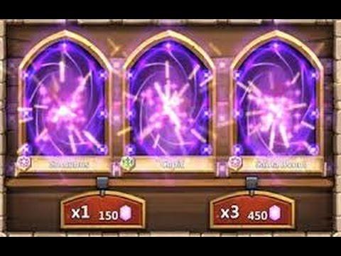 Modal 1k Lebih Untuk Mendapatkan Pahlawan Legenda (Heroes Legends) Castle Clash - Trik Rolling Game