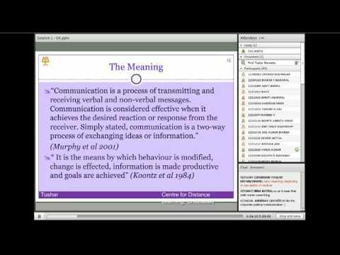 Business Communication Introduction Part 1