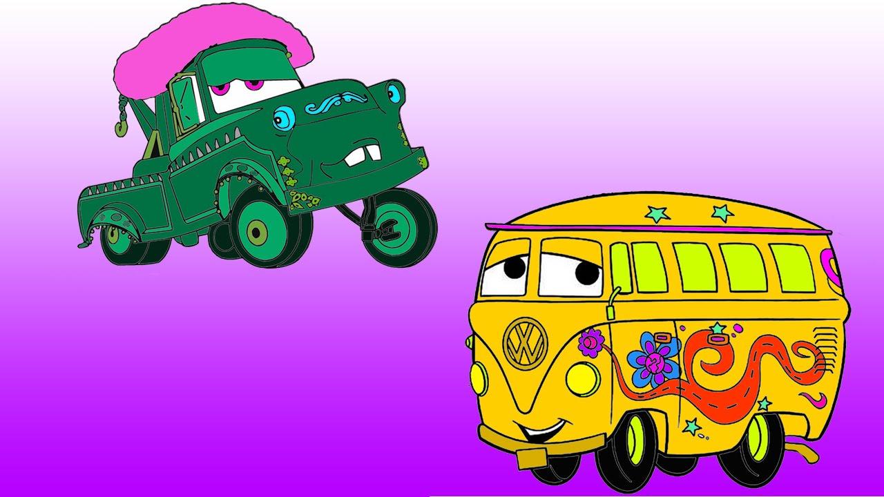 Disney Pixar Cars Coloring For