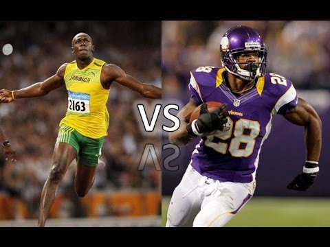 Usain Bolt vs. The NFL