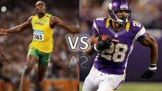 Usain Bolt vs. The NFL