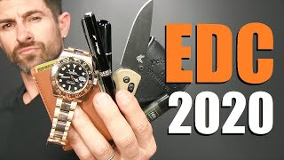10 EDC Items ALL Men Should Own!  (My Everyday Carry 2020)
