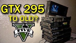 gTX 295 x2  GTA V Online Gameplay