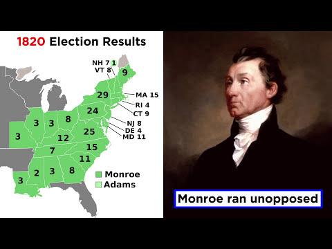 James Monroe: Last Cocked Hat (1817 - 1825)