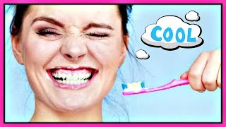 Так ВОТ чем НАДО чистить ЗУБЫ!!! Самая ЭФФЕКТИВНАЯ чистка зубов в домашних условиях.