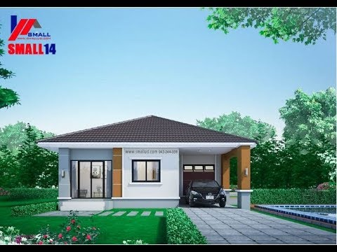 9 Small and Beautiful One Story House Plans