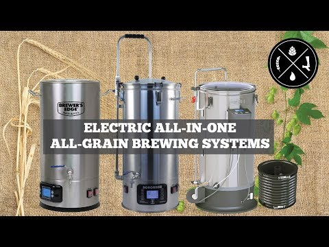 Comparing Electric All-in-One All-Grain Brewing Systems: Mash & Boil, Robobrew, And The Grainfather