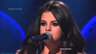 SELENA GOMEZ- GOOD FOR YOU AND SAME OLD LOVE PERFORMANCE