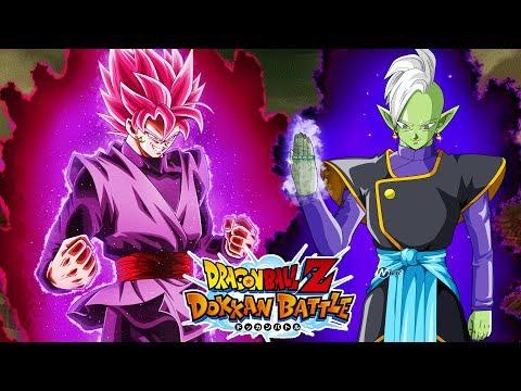 ZERO GOD PLAN! LR ROSE GOKU BLACK AND ZAMASU VS BOSS RUSH 3! DBZ Dokkan Battle