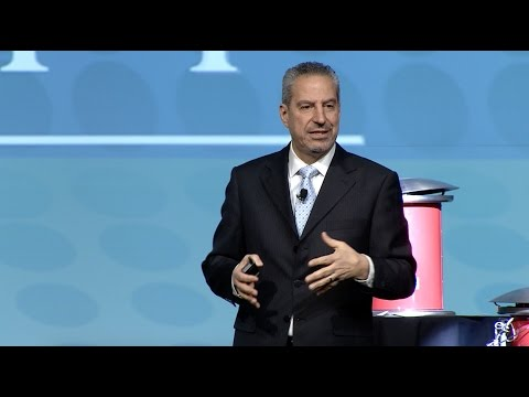 Selim Bassoul Keynote Speaker at the 2017 Restaurant Leadership Conference in Phoenix