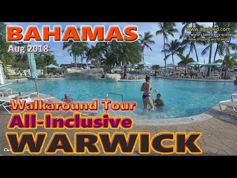 Warwick All Inclusive Bahamas Paradise Island Tour + Buffet Tour