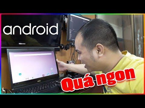 Thử Cài Android 8 Oreo Lên Laptop Xem NTN