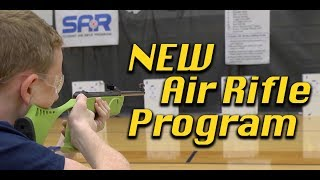 Student Air Rifle Shooting Program with Air Gun