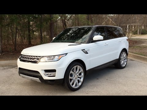 new car 2015 land rover range rover sport hse v6 youtube. Black Bedroom Furniture Sets. Home Design Ideas