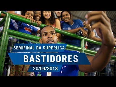 20/04/2018 - Bastidores da semifinal da Superliga Masculina de Vôlei