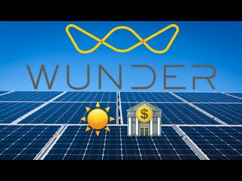 Wunder Is Financing The Solar Revolution ☀️ 🏦