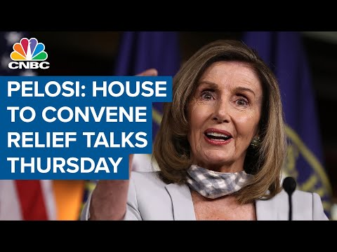Speaker Nancy Pelosi: House to convene Thursday morning on Covid-19 aid