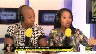 "Scandal After Show Season 4 Episode 1 ""Randy, Red, Superfreak, and Julia"" 
