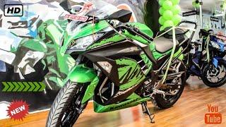 Video New Kawasaki Ninja300 Abs |2018| Review and Exhaust Sound 🔥🔥 download MP3, 3GP, MP4, WEBM, AVI, FLV November 2018