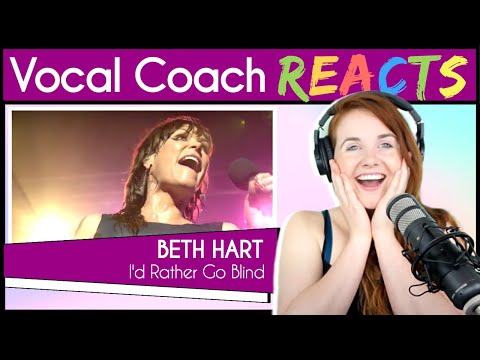 Vocal Coach Reacts To Beth Hart & Joe Bonamassa - I'd Rather Go Blind (Live)