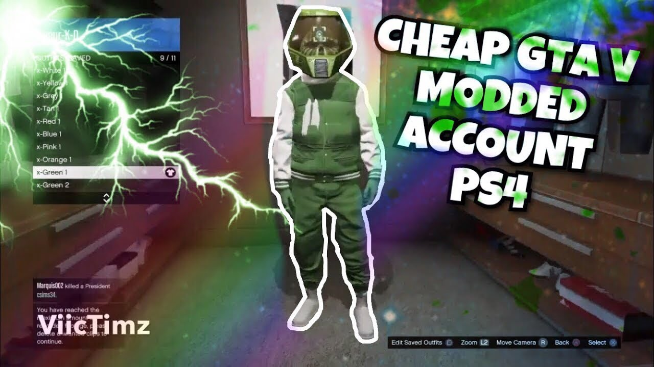 CHEAP AND LEGIT GTA V MODDED ACCOUNT IN 2019