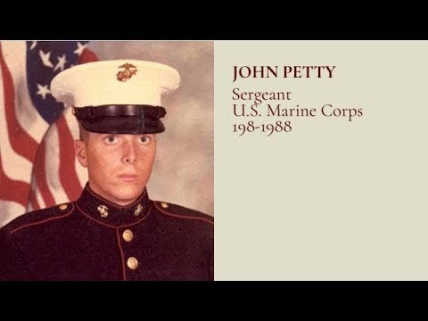 #TributetoaVeteran -  Sgt John Petty US Marine Corps 1980-1988