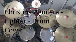 Christina aguilera - fighter drum ...